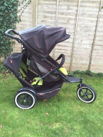 Phil and teds explorer double or single buggy