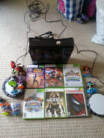 Xbox 360 with MISC games