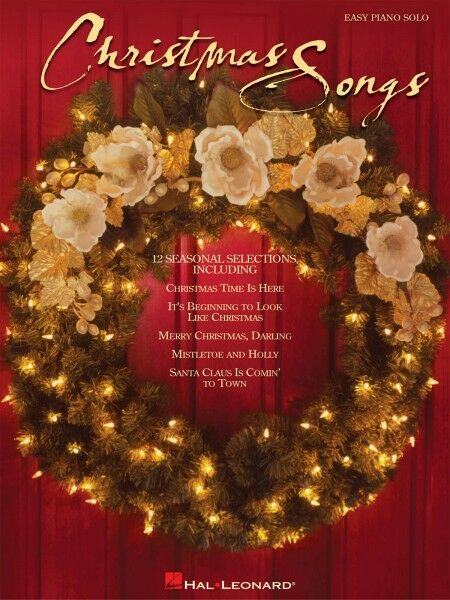 Christmas Songs Sheet Music Easy Piano Songbook NEW 000311242