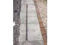 Thick steel lever bar 6ft £15