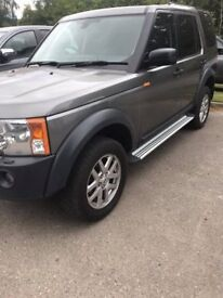 For sale I have a Landrover Discovery 3 commercial.