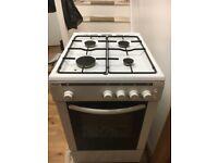 BUSH gas cooker 50cm AG56SW freestanding