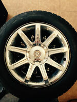 Chrysler 300c rim and tire (one)