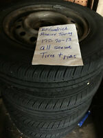 4 All season Tires and Rims BF Goodrich Premier Touring