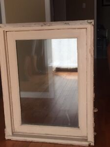 Solid wood casement window