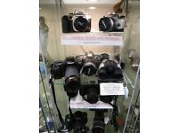 Cheap Working,Vintage Cameras,SLRs,Folding Cameras,Collectable Cameras -Leica-Nikon-Canon-16mm,35mm