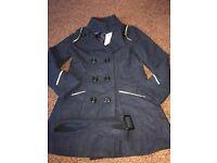 Brand new ladies coat dark blue