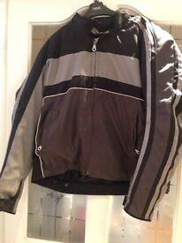 Women's motorbike jacket size 18 with armour