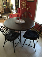 BRAND NEW CAST IRON TABLE & CHAIRS