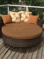 SUNBRELLA 2PC. LOUNGE SET