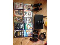 Playstation 2 bundle with 10 games