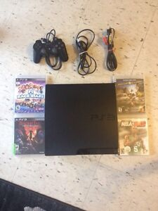 PS3 plus 4 games