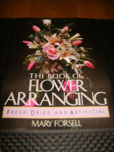 3 Flower Arranging Books (Fresh, Dried, and Artificial)