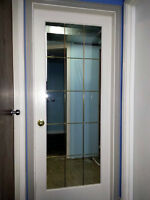Glass Panel Interior Door - Trade for Solid Panel