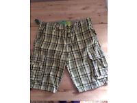 Men's River Island 100% Cotton Shorts Size 34