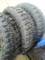 "3 18"" Goodyear Tires (as new)"