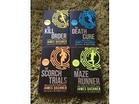 Set of four brand new books