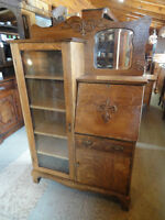 ***PRICE REDUCED*** ANTIQUE SIDE BY SIDE BOOKCASE/DESK