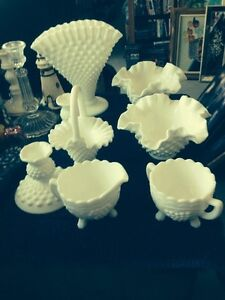FENTON HOBNAIL AND MILK GLASS Belleville Belleville Area image 2