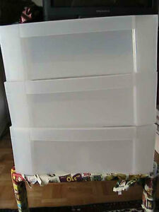 Plastic Drawers and Boxes for closets, West Island Greater Montréal image 2