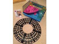 Hamster cage , ham track , hamster guide book