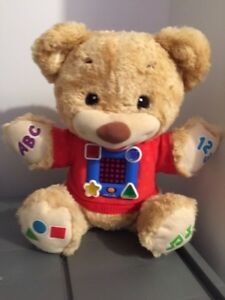 Fisher Price Learn & Sing Interactive Teddy Bear