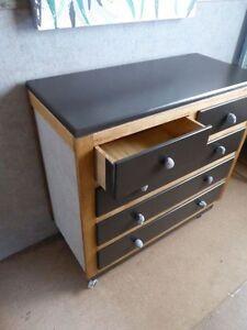 Urban industrial look drawers dresser McLaren Flat Morphett Vale Area Preview
