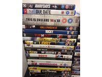 Dvd blu Ray and Xbox games