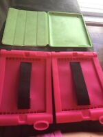 "Ipad cases! Samsung 7 & 8"" cases too"