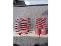 Fabia vrs 40mm pro sport lowering springs
