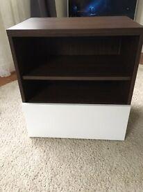Ikea Besta shelves / tv / storage unit