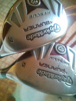 Taylor Made Burner 3 and 5 Hybrids RIGHT HAND (with Headcovers)