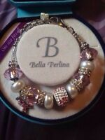 Bella Perlina breast cancer bracelet.