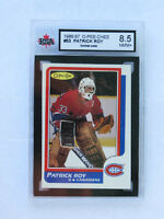 PATRICK ROY ROOKIE HOCKEY CARD