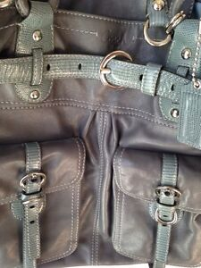 Large Leather COACH bag Peterborough Peterborough Area image 4