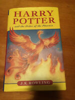 Harry Potter and the Order of the Phoenix ENGLISH MINT