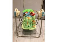Fisher Price Rainforest Open-topTake Along Swing