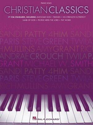 Solo Sheet Music Songbook - Christian Classics Sheet Music Piano Solo SongBook NEW 000311779