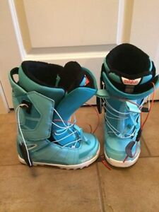 Thirty two womens snowboard boots, size 4.5-5, like brand new..n