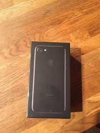Brand New Jet Black iPhone 7 128GB EE