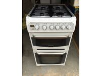 Cannon all gas double oven free standing cooker.