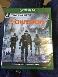 FOR SALE The Division for Xbox one  Peterborough Peterborough Area image 1