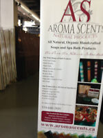 AROMA SCENTS NATURAL SOAPS AND SPA BATH PRODUCTS