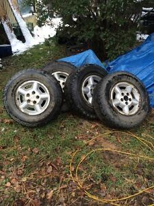 Tires and rims good life left Strathcona County Edmonton Area image 2