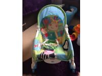 Baby rocker and chair