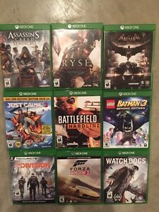 Xbox One games for trade