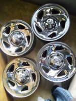 Dodge ram factory chrome rims