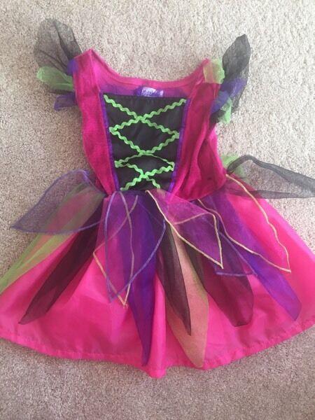 Halloween witch costume 18-24m