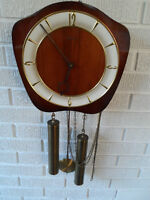 VINTAGE 8 DAY Chime wall clock