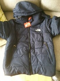 Black or blue north face coats cheapest £30 new